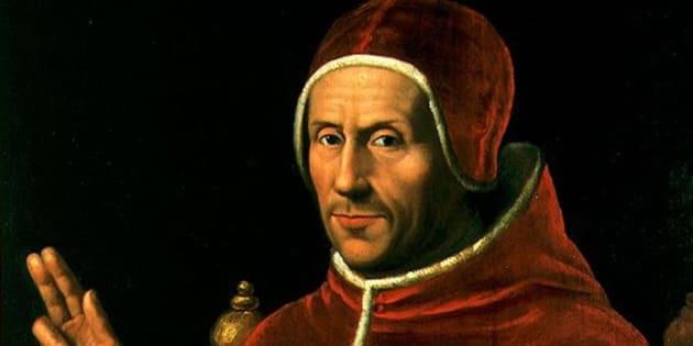 Jan van Scorel: Adriano de Utrecht, Inquisidor general, presidente del Consejo y regente de Castilla durante la Guerra de las Comunidades.