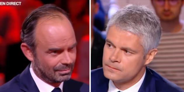 """Edouard Philippe face à Laurent Wauquiez dans """"L'Emission politique"""": vers un concours de droites?"""