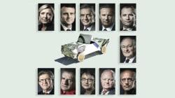 Le patrimoine des candidats à la présidentielle dévoilé mais pas