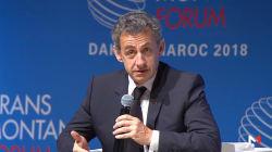 Au Maroc, Sarkozy réclame un plan Marshall européen pour