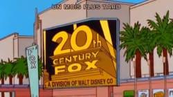 Disney qui rachète 21st Century Fox, les Simpson l'avaient