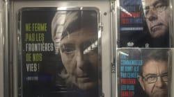 Campagne d'affichage sauvage anti-IVG dans le métro parisien, la RATP va porter