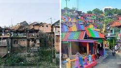 Questo villaggio indonesiano ha speso 20mila euro per trasformarsi da baraccopoli ad opera