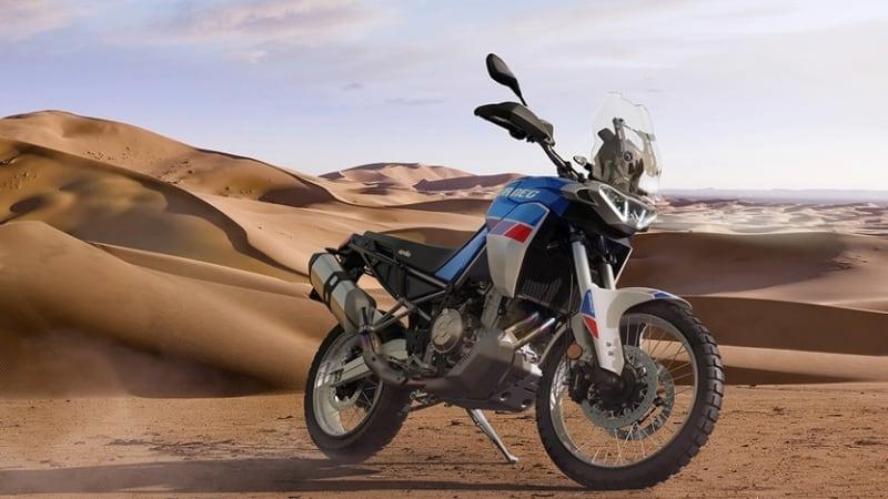 Aprilia präsentiert das mittelgroße Adventure-Motorrad Tuareg 660