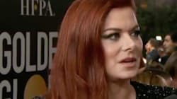 Debra Messing Blasts E! For Wage Inequality At Golden