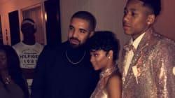 Drake a accompagné sa cousine au bal de
