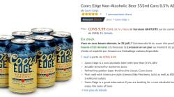 Molson offre sa bière sans alcool sur