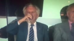 Bob Hawke Just Downed A Beer In One At The Cricket, Because It's
