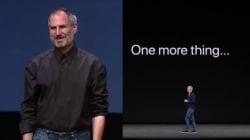 Pour la sortie de l'iPhone X, le public a eu droit à cette blague récurrente lancée par Steve