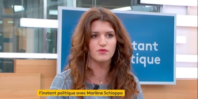 La secrétaire d'Etat Marlène Schiappa a demandé à connaître les noms des participants à la cagnotte de soutien au boxeur Christophe Dettinger.