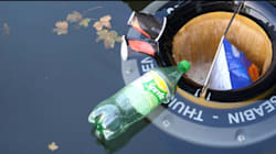 À Paris, Marseille et La Grande-Motte, les poubelles flottantes se