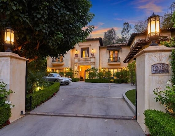 Britney Spears' iconic former home hits the market