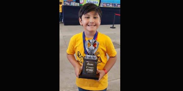Niño genio tamaulipeco va a Mundial de Cálculo