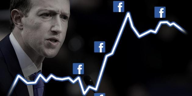 Mark Zuckerberg, fondateur de Facebook, devant le Sénat américain