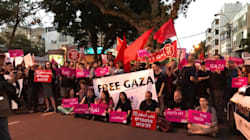 Hundreds In Israel And Beyond Protest Killings Of Palestinians On Gaza