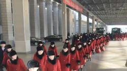 Les artistes nord-coréens venus au Sud pour les JO ont été accueillis par des manifestants