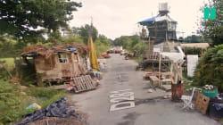 Voilà à quoi ressemblait la route des chicanes de la ZAD sur Google Street