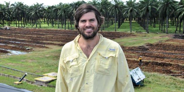 Felipe Guerrero, direttore del settore sostenibilità dell'azienda Daboon
