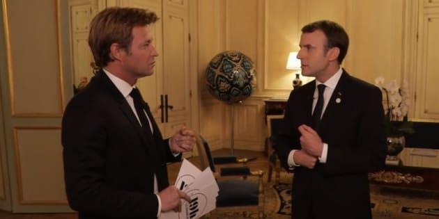 Macron au 20h de France 2 pour surfer sur son regain de popularité