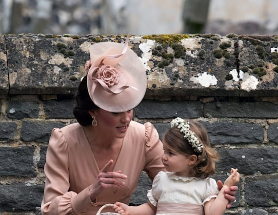Hats of all kinds were worn at Pippa's wedding