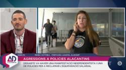 La tensa entrevista a una representante de Jusapol en la televisión valenciana: