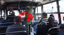 EN FOTOS: la Guardia Nacional ya está en Puebla; vigila el transporte