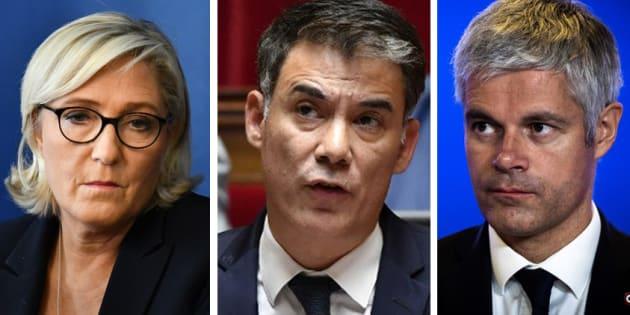 Le présidents de partis reçus dans le cadre de la crise des gilets jaunes.