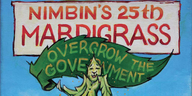 The annual festival has been held in Nimbin over the past 25 years.