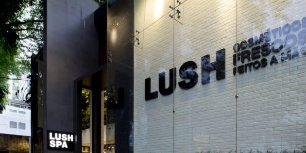 Lush Spa ficava localizado na Rua da Consolação, em São Paulo.