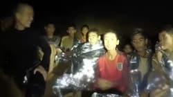 タイの洞窟に閉じ込められたサッカー少年たち、目的は「チームメイトの誕生祝い」