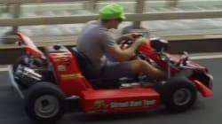 VIDEO: Así se juega Mario Kart en las calles de