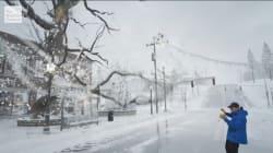 La neige de retour aux États-Unis, la météo-spectacle