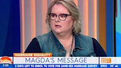 Magda Szubanski Breaks Down On 'Today' Discussing Marriage Equality