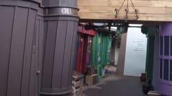 El callejón Diagón en la entrada de