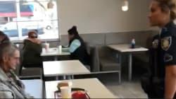 Cette vidéo d'un itinérant sorti d'un McDonald's par la police a