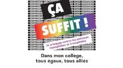 Contre l'homophobie, une nouvelle campagne lancée dans les collèges et