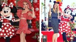 Katy Perry et Heidi Klum se la jouent Minnie Mouse pour l'inauguration de l'étoile de leur