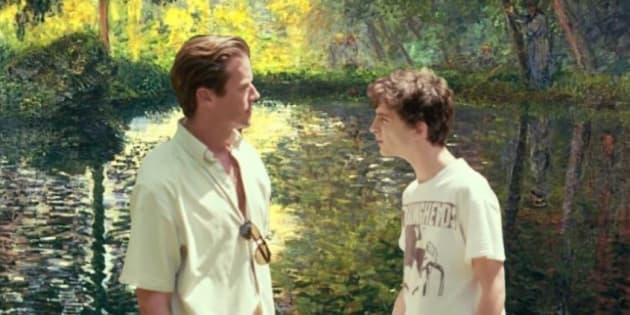 Oliver e Elio deixaram a Itália para viver um romance nas paisagens impressionistas de Monet.