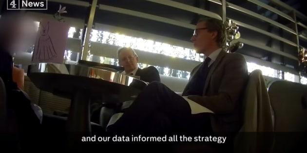 """Les patrons de Cambridge Analytica se félicitent d'avoir piloté """"toute la campagne de Trump""""."""