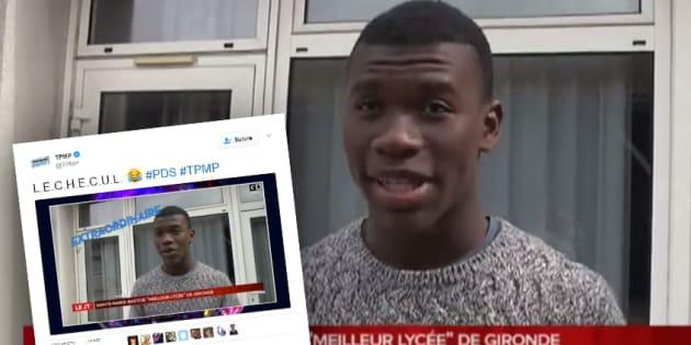 """Qualifié de """"lèche-cul"""" et de """"fayot"""" sur TPMP, Quentin Faugeras a été défendu par les internautes."""