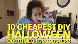 10 Comically Cheap Toddler Costumes For Parents Who Have Given