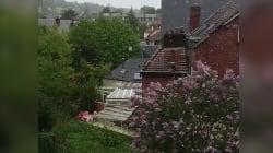 Nous sommes bien le 30 avril et il a bien neigé en