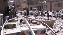 Au Yémen, les bureaux occupés de la présidence ont été bombardés pour la première