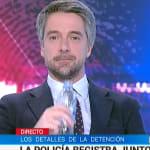 La tremenda pillada en directo al presentador del 'Telediario de TVE' que le dejó con esta
