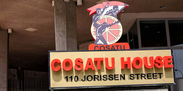 The Cosatu head office in Johannesburg.
