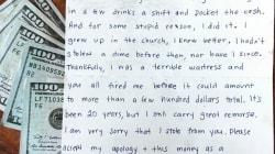 Dopo 20 anni una cameriera restituisce i soldi rubati alla proprietaria del ristorante (con gli