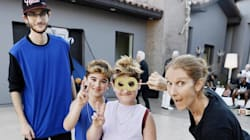 Céline Dion Shows Goofy Side In Photo To Mark Her Twins'