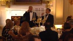 Les images du très chic dîner d'État en l'honneur des