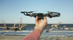 VIDEO: Este dron chino obedece al movimiento de tus