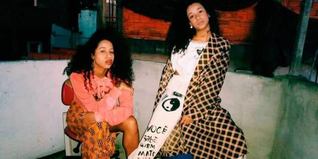 Ensaio de moda de Tasha e Tracie Okereke.